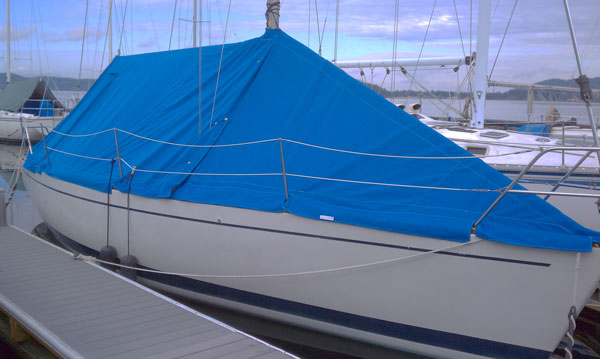 Full Boat Cover for Olson 30